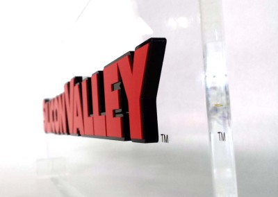 CNC Laser Cut Acrylic Sign