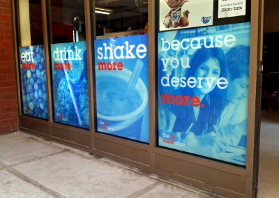 Digitally Printed Window Graphics