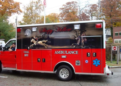 Partial Vehicle Wrap w/ Reflective Lettering