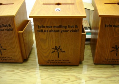Laser Engraved Suggestion Boxes