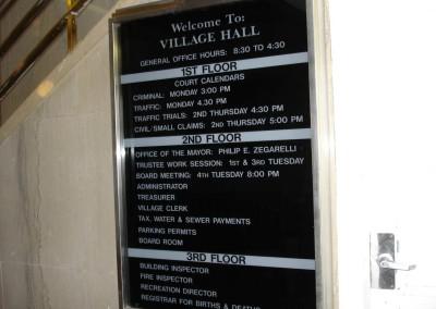 Acrylic Directory
