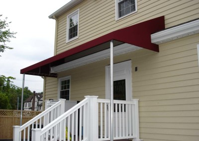 Traditional Awning w/ Mounting Posts