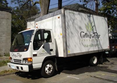 Vinyl Box Truck Lettering