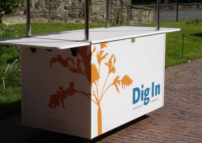 Digitaly Printed Food Cart Wrap
