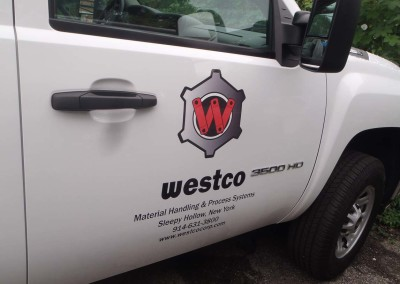 Vehicle Door Lettering and Graphics