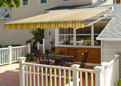 Roof Mounted Retractable Awning